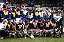 LEEDS UNITED FOOTBALL TEAM PHOTO>1991-92 SEASON