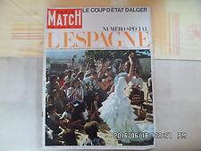 PARIS MATCH N°846 26/06/1965  L'Espagne Coup état Alger  G44