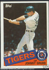 Topps 1985 Baseball Card - No 643 - Johnny Grubb - Detroit Tigers