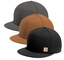 Carhartt Mens Ashland Hat Flat Bill Adjustable Cap - Choose Color