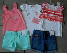 Size 4T,4 years outfit Gymboree,Desert Dreams,NWT,shirts,shorts,5 pc. set