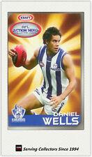 2007 Kraft Dairy AFL Action Heroes Card #10 Daniel Wells (Kangaroos)