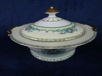 Vintage Noritake Felicia Covered Casserole With Lid