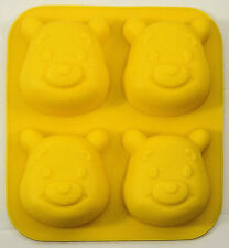 Winnie the Pooh 4 Cavity Silicone Mold - NEW