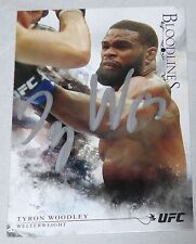 Tyron Woodley Signed UFC 2014 Topps Bloodlines Card #123 Autograph 183 171 167