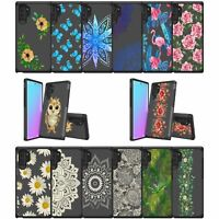 For Samsung Galaxy Note 10 Plus (6.8) Slim Protective Dual Layer Case Floral