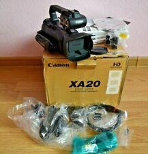 Canon XA20 Professional Camcorder 20x Canon Optical Zoom