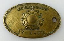 DDR Dienstmarke Nr 2-2429 Sachsen operative Abt. Kripomarke Kriminalpolizei