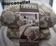 Croscill Home Anessa 4 Piece KING Comforter Set Latte