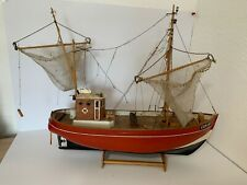 Schiff Seestern Cux 87 Modellbau aus Holz