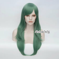 70CM Long Women Wavy 20 Colors Basic Heat Resistant Synthetic Hair Cosplay Wig