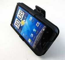 Hard Impact Shell Cover Case + Belt Clip Holster for HTC Inspire 4G
