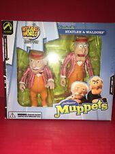 Wizard World Exclusive Statler & Waldorf Muppets Figures 2003