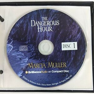 The Dangerous Hour by Marcia Muller Audio Book on Compact Disc CD Novel Rare