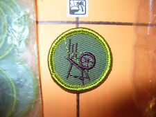 Textiles, Boy Scout Twill Merit Badge,BSA,1959 - 1971,MINT, Out Of ORIGINAL Bags
