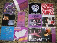 Deep Purple Ritchie's Box 17CD set Japanese Label CD Collection Rare Autographed
