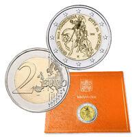 VATICANO VATICAN 2 EURO COMMEMOR.FDC E PROOF dal 2004 SCEGLI QUELLO CHE TI SERVE