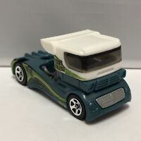 Hot Wheels Green Semi Fast 1:64 Scale Diecast Toy Car Model Mattel