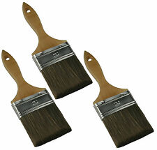 3 Malerpinsel 70 mm im Set Lackierpinsel ohne Haarverlust Pinsel (3x101515)