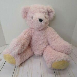 "Vermont Teddy Bear Co. Bear Plush Stuffed Animal 16"" Not Jointed"