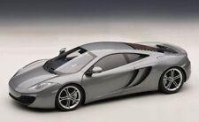 1/18 AutoArt McLaren mp4-12c Plata Metálica