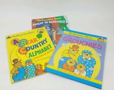 Berenstein Bears Lot, 1 Coloring Book & 2 Reading Books