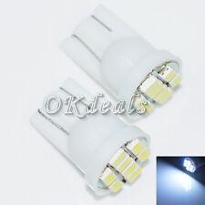 T10x2 Auto LED Lampe W5W 194 168 501 Umrissleuchte Auto Lampe Weißes Licht Neu