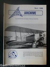AIR BRITAIN ARCHIVE - 1998 #4