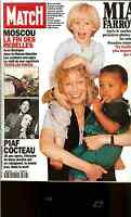 PARIS MATCH OCT 1993 #2316 VG COND,EDITH PIAF,JEAN COCTEAU CROSS DESTINY16 PAGES