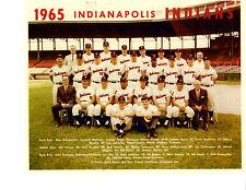 1965 Indianapolis Indians 8X10 Team Photo Baseball Agee Stephens Hacker