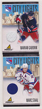10-11 Pinnacle Marian Gaborik City Lights Jersey /499