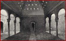 SPAGNA ESPANA Bagno Alhambra Grande camera di Thermes