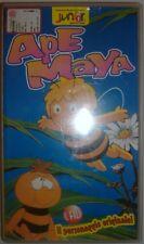 VHS - JUNIOR JUST FOR KIDS/ APE MAYA - IL FILM - IL PERSONAGGIO ORIGINALE!