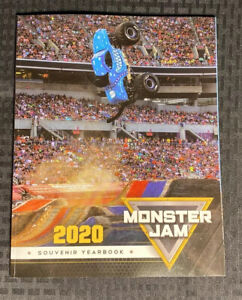 Monster Jam 2020 Souvenir Yearbook Monster Truck W/ Poster Inside 145 Pages NEW