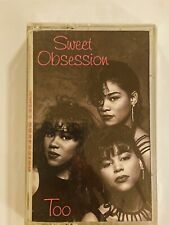 SWEET OBSESSION Sweet Obsession Too 1991 CASSETTE PROMO New