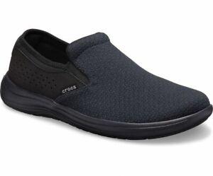 Crocs Reviva Slip-on shoe Men's size 10 New with tag Black 205807-060
