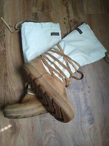 Steger Mukluks Men's Genuine Moose hide with Canvas Arctic Boots Men's M8++