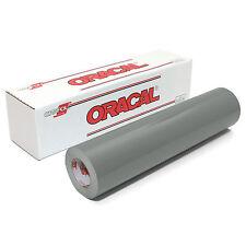 ORACAL 651 Outdoor Permanent Vinyl - GREY 12in x 10ft Roll