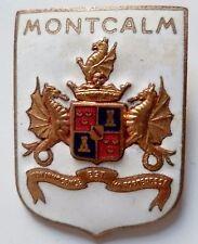 Insigne Marine FNFL FRANCE LIBRE FFL CROISEUR MONTCALM AUGIS émail ORIGINAL WWII