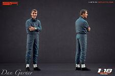 1/18 Dan Gurney figure VERY RARE !!! for 1:18 Autoart Exoto CMC Porsche Mercedes