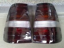 Schwarze Rückleuchten Lasierung / Wunsch Lasur Ihrer Mercedes W124 Kombi Lichter