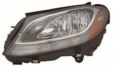 MERECEDES  BENZ 2015-2016 C CLASS LEFT DRIVER HALOGEN HEADLIGHT HEAD LIGHT LAMP