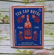 4x40gr Teh Cap Botol, Loose Leaf Indonesia Traditional Tea-Old Design Paper Wrap