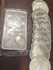 21 0z Fine .999 Silver Bullion
