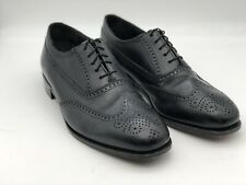 Florsheim Erickson 17166 Black Wingtip Brogues Oxfords Black Men's Size 11 D