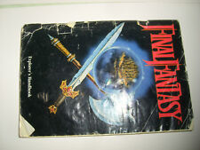 NINTENDO  NES FINAL  FANTASY INSTRUCTION MANNUAL Explorer's Handbook