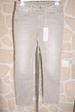 Jeans gris ardoise neuf taille 42 marque CLOSED united straight étiqueté à 219€