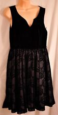 women's black dressy dress by Mod Cloth size large bridesmaids formal crinoline