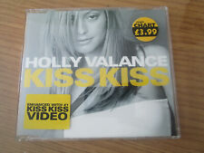 holly valance kiss kiss cd single includes video