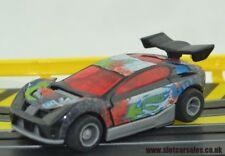 Stunning Tyco Mattel 440X2 Synkro GT Car in Black Fully serviced HO Slot Car